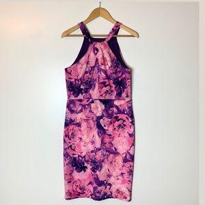 Enfocus Studio Petite Women's Floral Dress